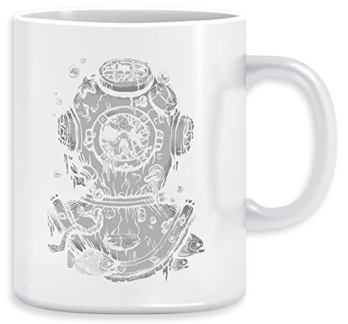 Muerto Buzo Taza Ceramic Mug Cup