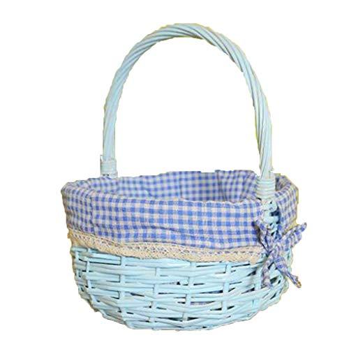 Buy Bargain Picnic Baskets Split Willow Shopping Split Basket Wicker Small Bamboo Basket Hand Basket...