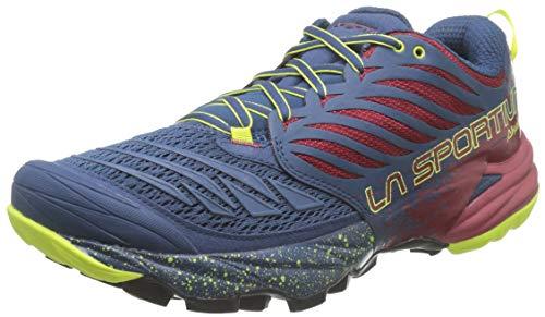 La Sportiva Akasha, Zapatillas de montaña Hombre, Opal/Chili, 41 EU