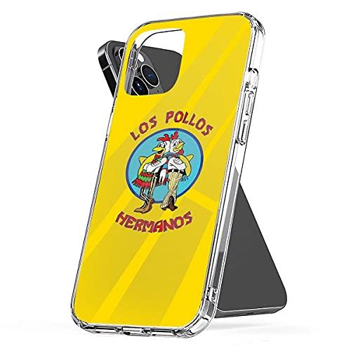 Los Pollos Hermanos Anti-Scratch Protective Custodie per Telefoni iPhone 12/11 Pro Max 12 mini SE X/XS Max XR 8 7 6 6s Plus Custodie