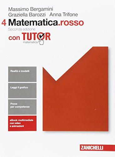 Matematica.rosso. Per le Scuole superiori. Con Contenuto digitale (fornito elettronicamente): 4
