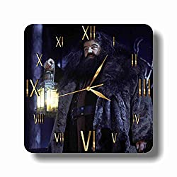 Harry Potter - Rubeus Hagrid 11.8'' Handmade Wall Clock - Get Unique décor for Home or Office – Best Gift Ideas for Kids, Friends, Parents and Your Soul Mates