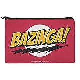 The Big Bang Theory Sheldon Bazinga Makeup Cosmetic Bag Organizer Pouch
