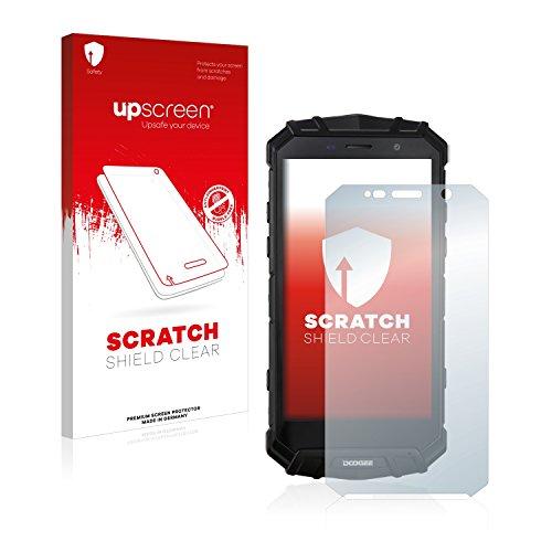 upscreen Schutzfolie kompatibel mit Doogee S60 Lite – Kristallklar, Kratzschutz, Anti-Fingerprint
