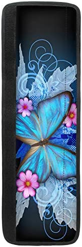 HUISEFOR Butterfly Kitchen Decorative Handle Cover Set of 2 Durable Washable Dirty Proof Refrigertor product image