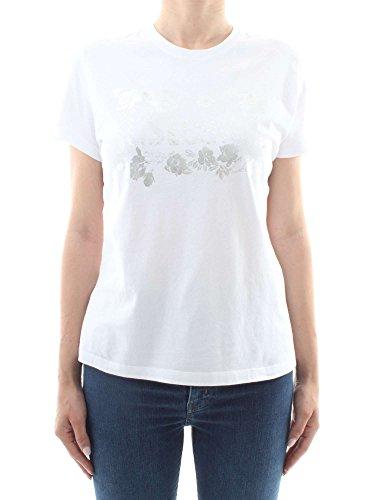 Just Cavalli S02GC0286 T-Shirt Donna Bianco L