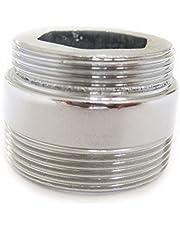 PEPTE Massief Metalen Adapter Voor Waterbesparende Keukenkraan Tap Beluchter 22mm tot 24mm