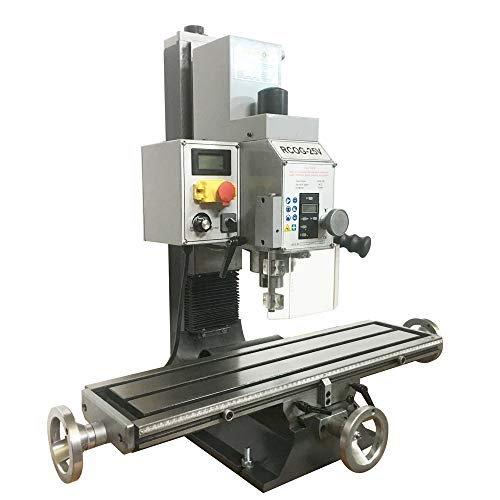 INTBUYING Benchtop Mill/Drill Milling and Drilling Machine Brushless Motor Variable Speed 750W