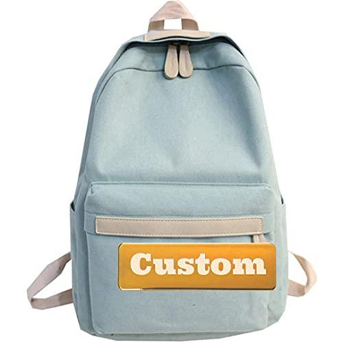 Nome personalizzato Personalizzato Escursionismo Daypack Ultralight Small Lightweight Zaino Bambino da uomo (Color : Lvse-xiao, Size : One size)