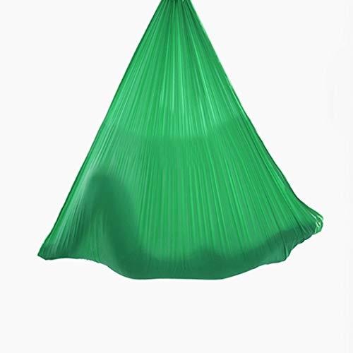 Best Prices! LWKBE Aerial Yoga Hammock 6.6 Yards Aerial Silk Yoga Swing Set with 2000 Ibs Load Inclu...