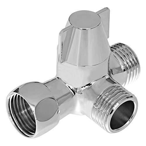 Yizhet 3-Wege-Umschaltventil Ventil Umschalter für die Dusche, G1 / 2