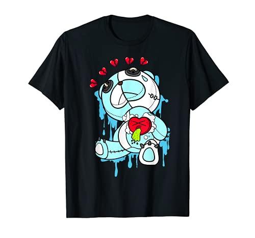 Mens Heart Sick Graphic Tee Match Jordan 11 Low Legend Blue T-Shirt