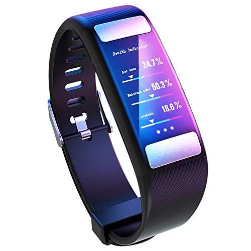 YINING Smart Sportuhr,Körperfett-Uhr überwachen/Aktivitäts-Fitness-Tracker/Herzfrequenz-Messgerät/Schlaferkennung
