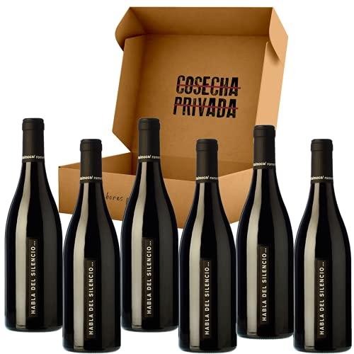 Habla del Silencio - Envío Gratis 24 H - 6 Botellas - Vino Tinto - Mejor Vino de España - VT Extremadura. Seleccionado y Env