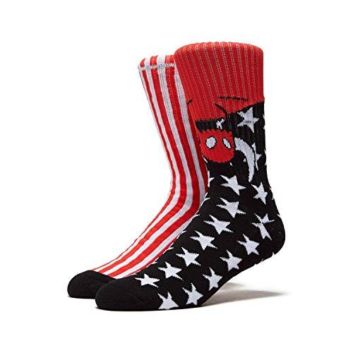Toy Machine Skateboards Socken American Monster schwarz