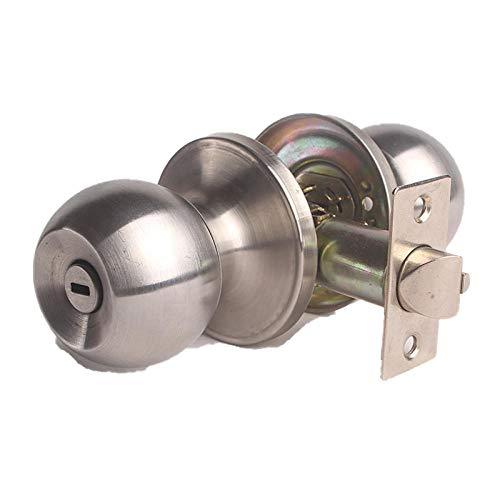 Tres barras que lijan la cerradura esférica de la bola de la puerta del baño del canal de la cerradura de la puerta del dormitorio interior