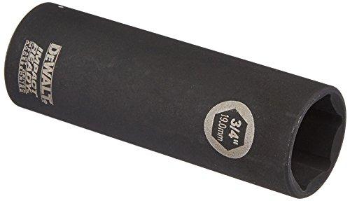 DEWALT DW22902 3/4-Inch IMPACT READY Deep Socket for 1/2-Inch Drive