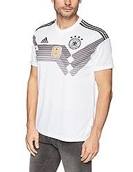 Adidas DFB Trikot Home WM 2018 Herren, Weiß (white/black), S
