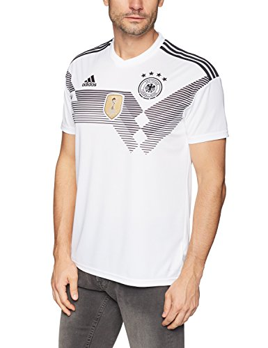 Adidas DFB Trikot Home WM 2018 Herren, Weiß (white/black), 2XL