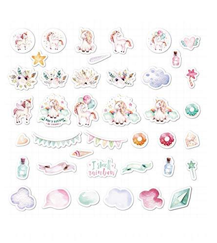 AllRing 40 hojas de pegatinas de Simple Stories Planer Essentials de papel, multicolor (tipo 7)