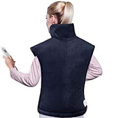 ☀【RELIEVE NECK, SHOULDER AND BACK PAIN】If you are still suffering from back, shoulder and neck pain, you might as well try this high-quality electric heating pad. This heating pad has wearable thermotherapy technology, providing deep penetrating heat...