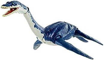 Jurassic World, Plesiosaurus, Batalla Feroz , Dinosaurio de Juguete para niños de 4 años en adelante con Movimientos de...