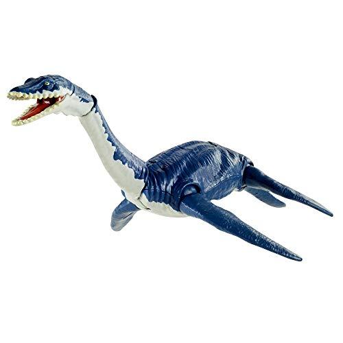 Jurassic World Dinosaurio articulado plesiosaurus Figura de juguete para niños (Mattel GVG50)