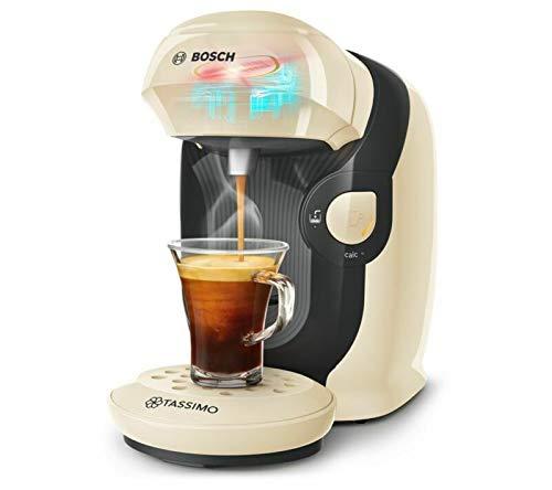 Tassimo by Bosch Style TAS1107GB Kaffeemaschine, cremefarben