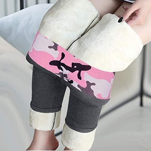 riou Leggings Térmicos Mujer Invierno Calietes Pantalones RopaDeportivos Talla Grande Leggins Cálid Cómodo para Al Aire Libr y el Día a Día