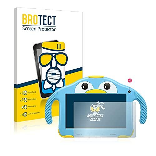 BROTECT Protector Pantalla Cristal Mate Compatible con Yenock MID-1013 Kids Tablet 7' Protector Pantalla Anti-Reflejos Vidrio, AirGlass