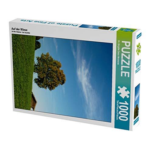 Puzzle alto de 1000 piezas en el prado (CALVENDO Natural)