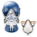 Finlon Vollmaske Universal Masken mit Kopfbedeckung, Komfort Gel verschiedene Mask (Height:...