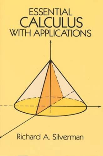 Essential Calculus with Applications (Dover Books on Mathematics)