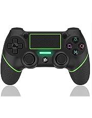 AQCTIM Mando para PS-4 Mando Inalámbrico para PS-4/Pro/Slim/Steam, Controlador Bluetooth Gamepad Wireless Bluetooth Controlador Joystick con Vibración Doble
