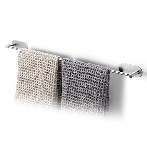 Yxsd toallero Individual Autoadhesivo, Toallero de baño de Acero Inoxidable Tack 60cm, Toalleros Montados en la Pared for baños Familiares de Cocina