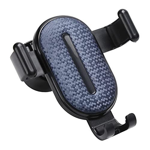 Soporte para teléfono para automóvil, soporte para teléfono celular manos libres giratorio de 360 ° para ventilación de aire universal para automóvil Soporte para teléfono para automóvil, fácil de i