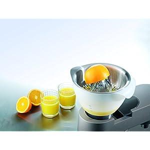 Kenwood Presse Agrumes AT312, Accessoire pour Robot Pâtissier multifonction Chef, Chef XL, Capacité bol 600 ml