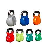 XMH Pesas Libres De Kettlebell para Ejercicios De Entrenamiento De Fuerza, Pesas Rusas De Competición De 4 A 20 Kg, Entrenamiento De Fuerza, Entrenamiento En Casa Y Gimnasio,10kg