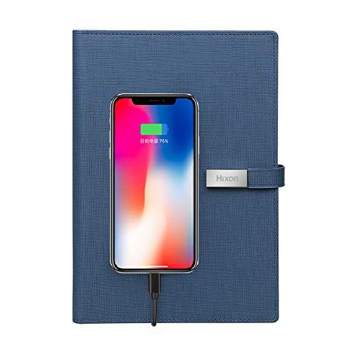 Hixon 9000mAh Batería Externa Forma Cuaderno Carga Teléfono Móvil y Tableta para Reunión, Regalo o Negocio