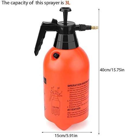 2L Hand held Garden Sprayer Pump Pressure Water Sprayer Pressurized Pump 3 Size