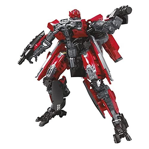 CZWNB El Juguete Transformers Favorito de los Niños, KO Transformers Toy Luxury Grade Smash Car Action Robot Modelo De Juguete Mejor Regalo De Cumpleaños,Juguete Modelo de Robot de deformación