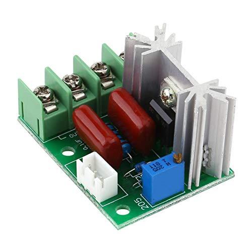 Maquer 2000 W SCR elektrische Spannung AC 50-220 V langlebiger, praktischer Drehzahlregler, SCR-Regler, praktisch für Warmwasserbereiter mit Elektroherden