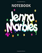 Notebook: jenna marbles - 50 sheets, 100 pages - 8 x 10 inches
