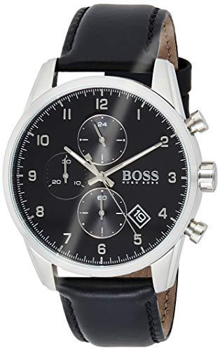 Hugo BOSS Reloj para de Cuarzo con Correa en Cuero 1513782