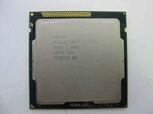 Intel Core i7–2700K–Procesador CPU de Escritorio sr0dg LGA11558M 3,50GHz 5GT/s