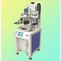 GOWE automático de precisión serigrafía Máquina para metales, vidrio, teclado hoja