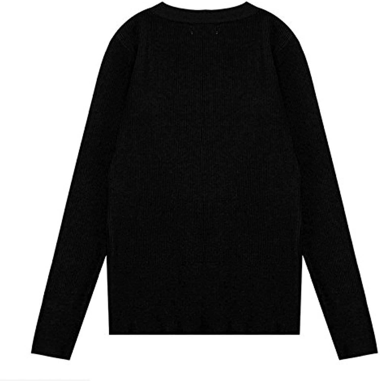 SZYL-Sweater Bodenbildung Damen Pullover College College College Wind Wilden Rundhals lose gestrickte Pullover Frauen B07BHKR96P  Ideales Geschenk für alle Gelegenheiten 4d252e