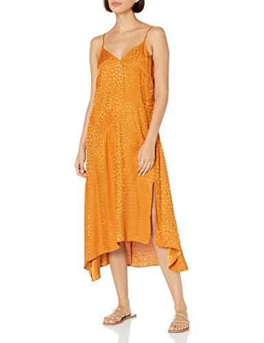 Buffalo David Bitton Damen Slip Lssiges Kleid, Gold Leo, X-Small