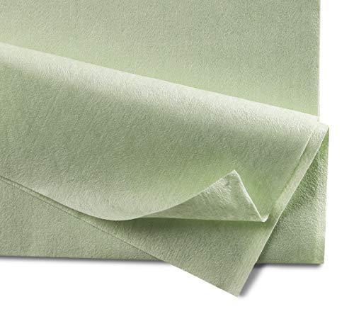 Mopptex - Paño de microfibra (35 x 40 cm, 150 unidades), color verde