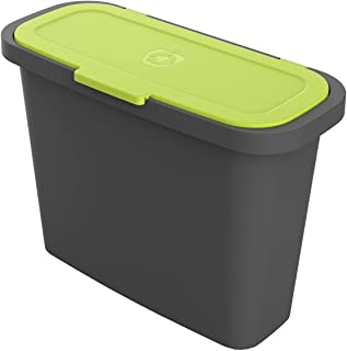 Maze 9lt Slim Kitchen Compost Caddy and Compostable Bags